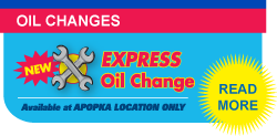 Apopka Oil Change