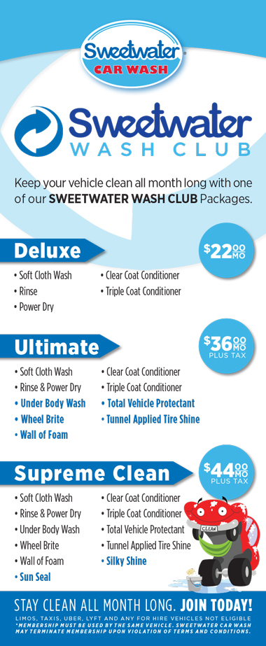 sweetwater wash club sweetwater car wash. Black Bedroom Furniture Sets. Home Design Ideas